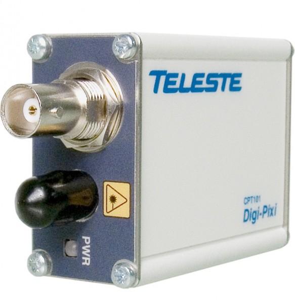TELESTE 1-Kanal Glasfaser Videosender, CPT101