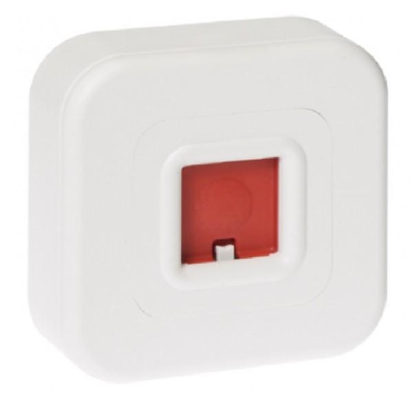 Honeywell 031590, Überfallmelder weiß aP ohne LED Anzeige