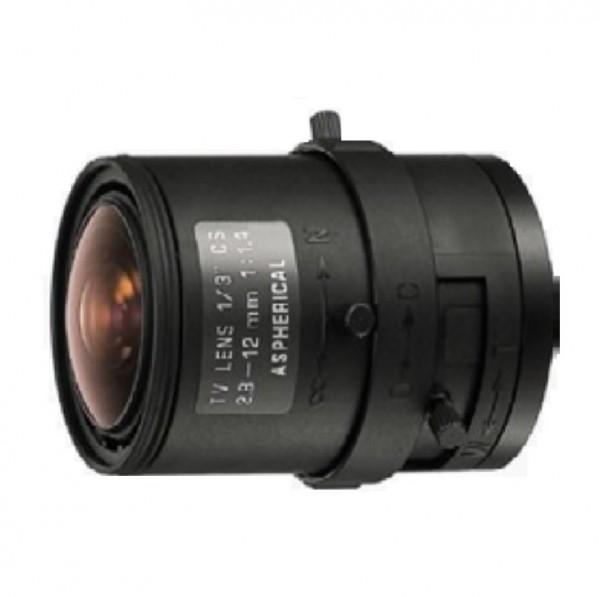 """TAMRON 12VM412ASIR, 1/2"""" Varioobjektiv 4-12 mm manuell"""