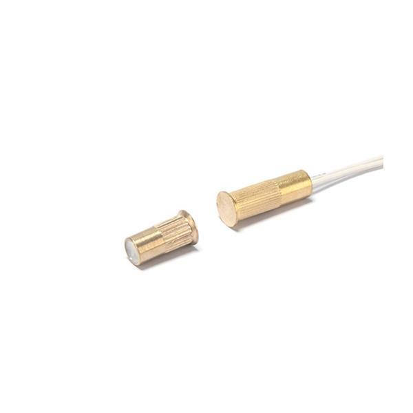 SATEL B-3CM, Einbau-Magnetkontakt Messing, 10x