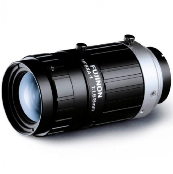 "FUJINON HF8XA-5M, 2/3"" 5 MP-Objektiv 8 mm"