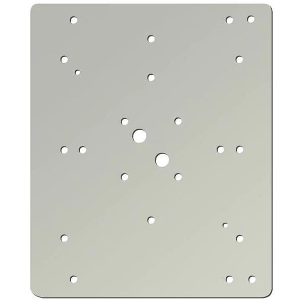 ESSER 761406, Montageplatte aus Aluminium