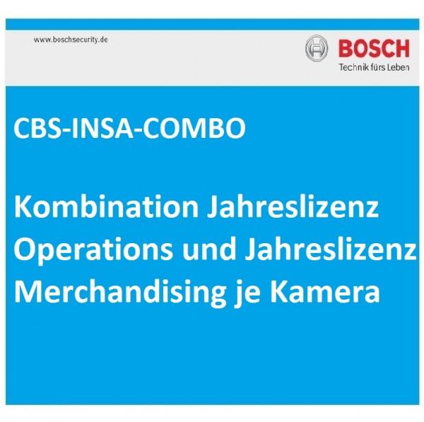 BOSCH CBS-INSA-COMBOL, Jahreslizenz Operations und Merchandising