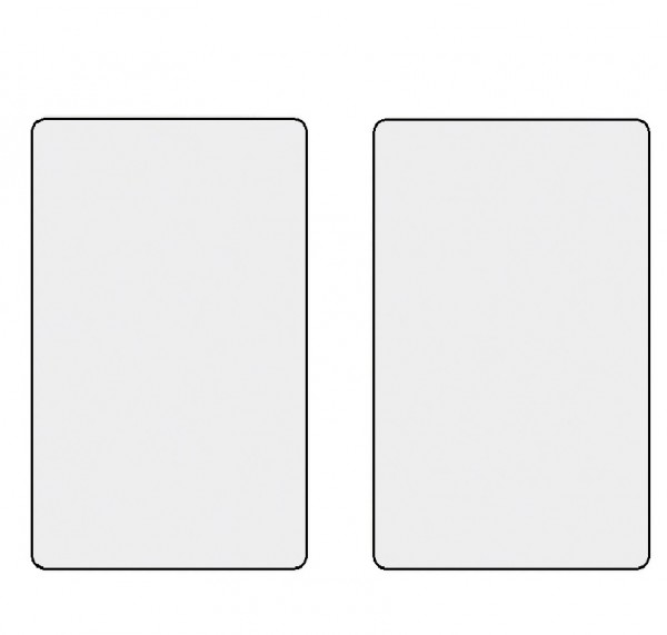 Honeywell 026362, DESFire EV1 Karte, blanko/weiß bedruckbar