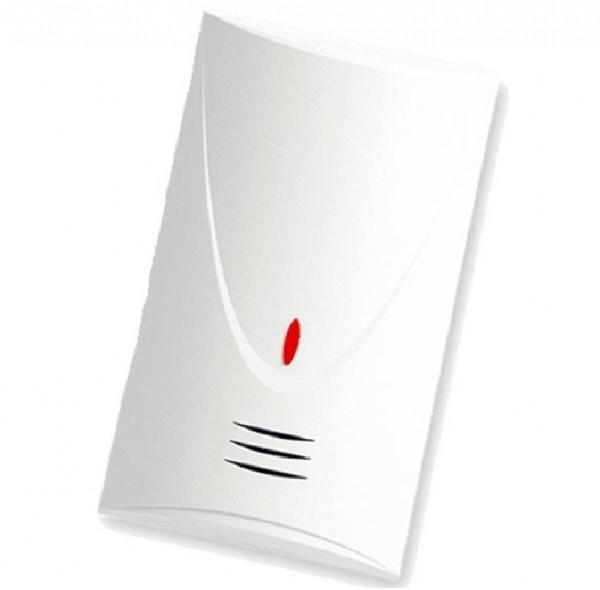 SATEL INDIGO, Akustischer Glasbruchmelder weiß