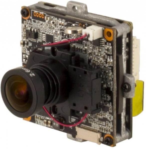 """eneo NXP-880F26, 1/2,8"""" Full-HD IP-Platinenkamera 2,6 mm"""