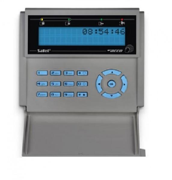 SATEL ACCO-KLCDR-BG, LCD-Bedienteil grau