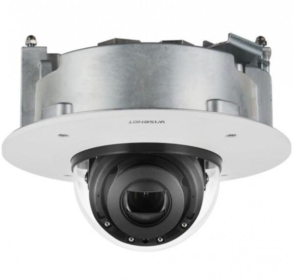 """Hanwha Techwin XND-6081RF, 1/2,8"""" Netzwerk-Kamera IR-Dome Einbau"""