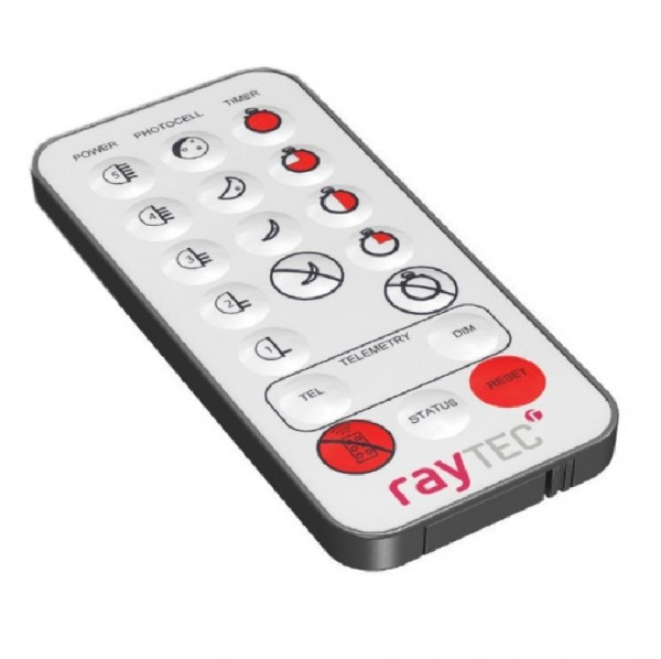 rayTEC VAR-RC-V1, Fernbedienung für Vario Scheinwerfer