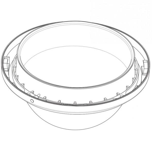 BOSCH VGA-BUBLRG-CCLA, Deckeneinbaukuppel groß klar