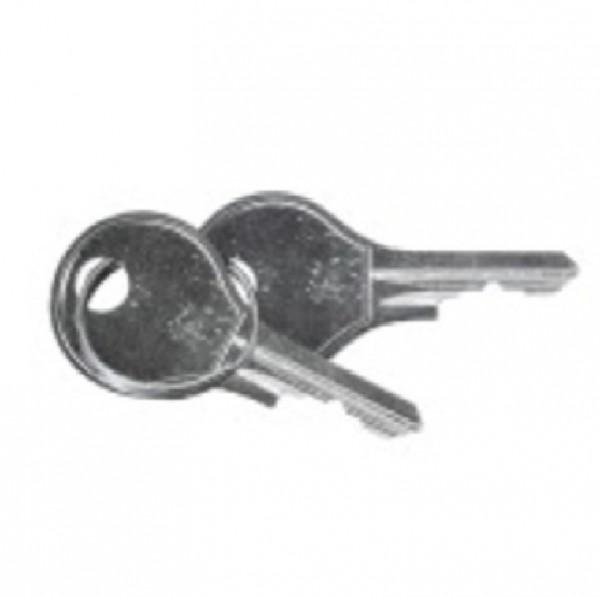 """ESSER 743212, Schlüssel 1 D 9 für 19""""-Einbauschrank"""