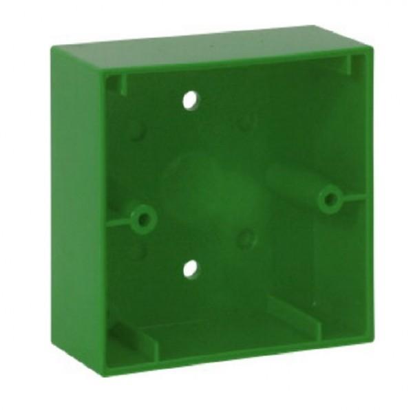 ESSER 704984, grünes Montagegehäuse aP für kl. MCP Elektronikmodul