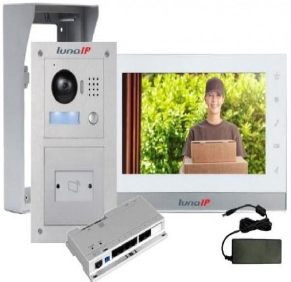 lunaIP Video-Türsprechanlage auf Putz, IP-Modularpaket RFID AP