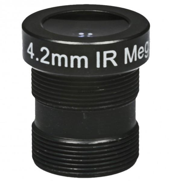 "ASL-Ademco ASL-MP42IR, 1/3"" Wechselobjektiv, 4,2mm"