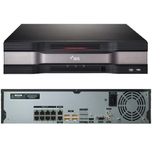 IDIS DR-6308P-S, Netzwerk-Videorekorder 8 IP-Kanäle