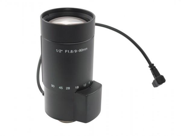 """KOWA 1/2"""" MP Varioobjektiv 9-90 mm, LMVZ990A-IR"""