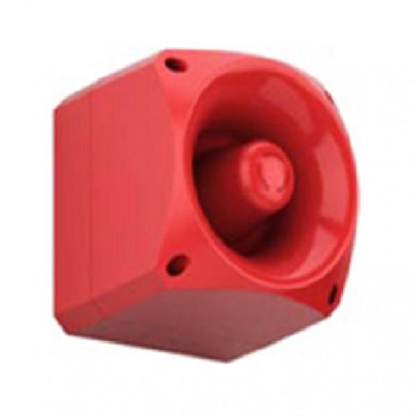 ESSER 766424, Akustischer Signalgeber N120, rot
