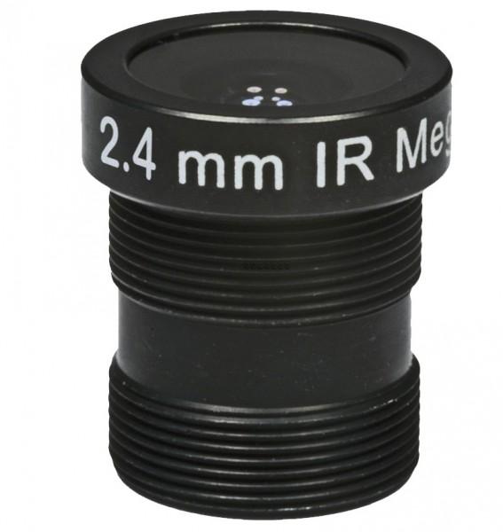 "ASL-Ademco ASL-MP24IR, 1/3"" Wechselobjektiv, 2,4mm"