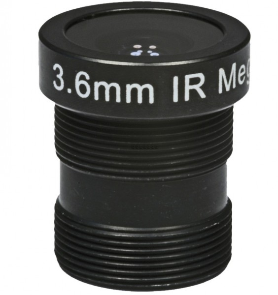 "ASL-Ademco ASL-MP36IR, 1/3"" Wechselobjektiv, 3,6mm"