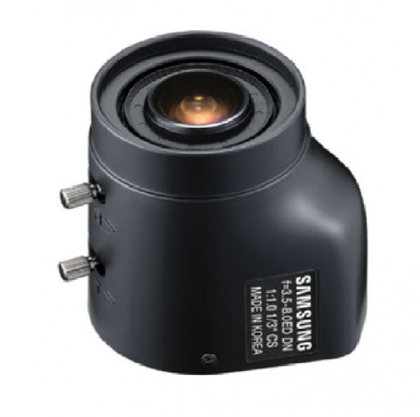 "Hanwha Techwin 1/3"" AI-Objektiv 3,5-8mm, DC, SLA-3580DN"