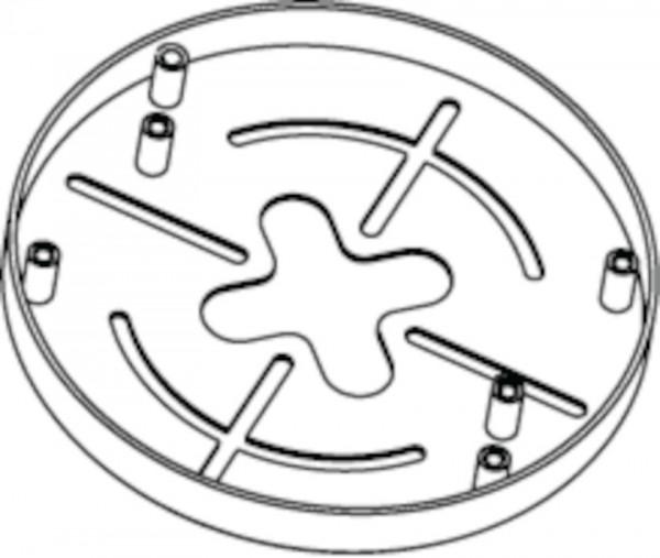 BOSCH NDA-ADT4S-MINDOME, Aufputz-Anschlussbox für Dome-Kamera