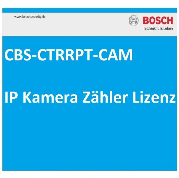 BOSCH CBS-CTRRPT-CAM, IP Kamera Zähler Lizenz