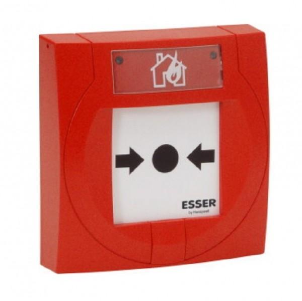 ESSER 804973, IQ8MCP Handfeuermelder, rot mit Kunststoffscheibe