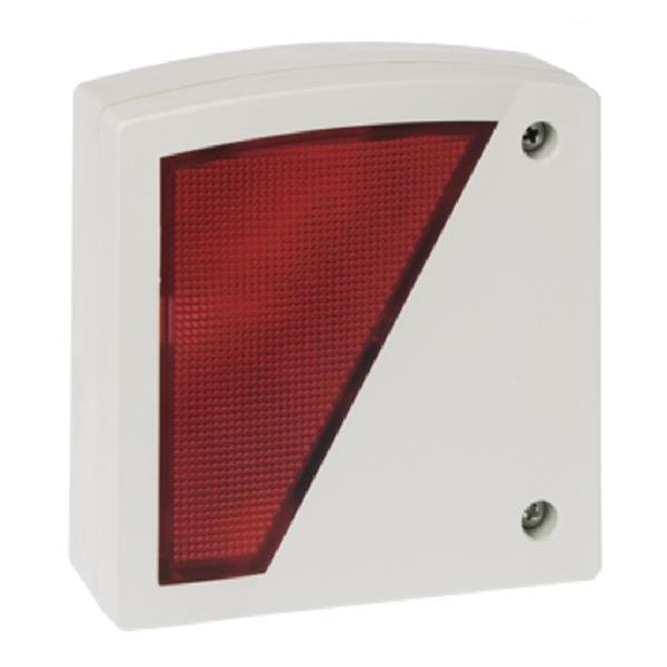 Honeywell 042230.17, Innen-Blinkleuchte rot konv. Anschluss