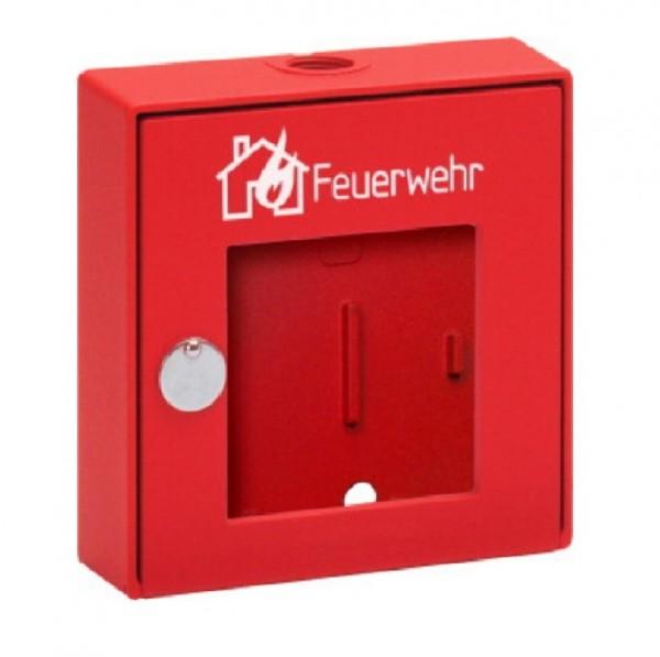 ESSER Melder-Gehäuse rot mit Glas, Feuerwehr, EN 54-11, 704801.11