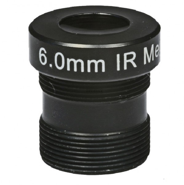 "ASL-Ademco ASL-MP06IR, 1/3"" Wechselobjektiv, 6mm"