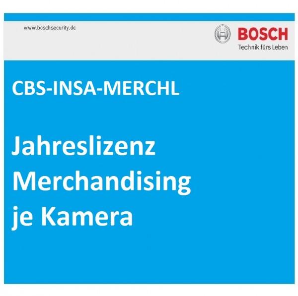 BOSCH CBS-INSA-MERCHL, Jahreslizenz Merchandising je Kamera