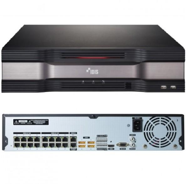IDIS Netzwerk-Videorekorder 16 IP-Kanäle DR-6316PS-S