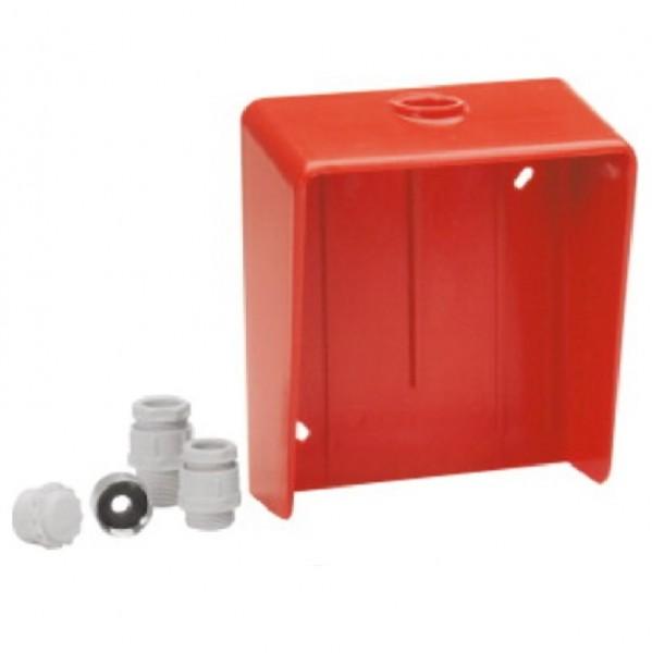ESSER 781682, Wetterschutzgehäuse für Handmeldergehäuse rot 7047/48xx