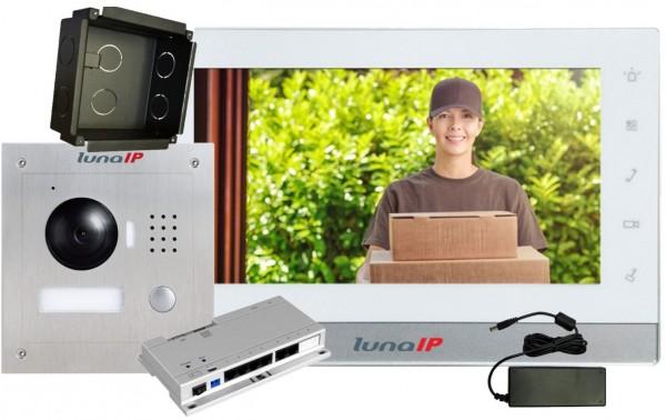 lunaIP Video-Türsprechanlage, IP-Paket Türstation UP