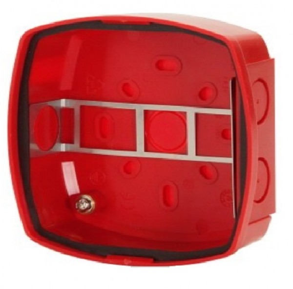 ESSER 806202, Alarmgeber-Sockel IP 65 rot