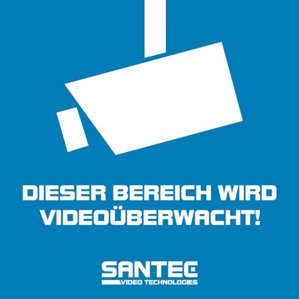 SANTEC STICKER-SANTEC-VG, 5x Aufkleber (vorglas)