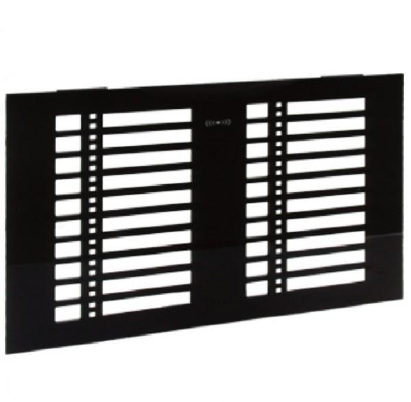Honeywell LED Frontplatte, schwarz, 013014