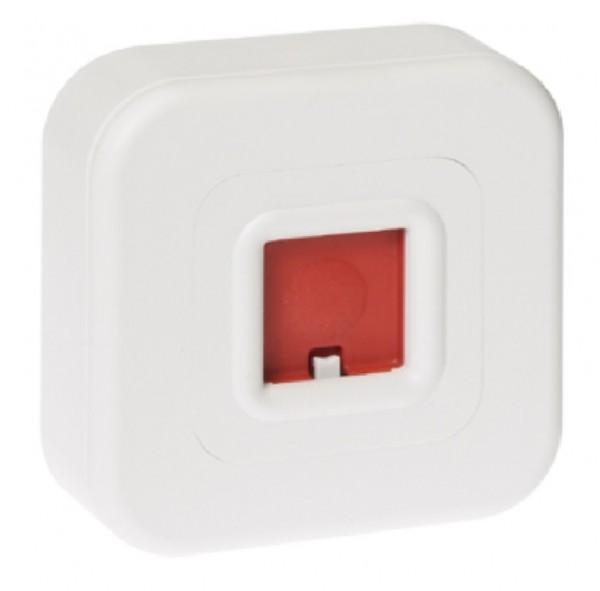 Honeywell Überfallmelder weiß aP mit LED Anzeige, 031592
