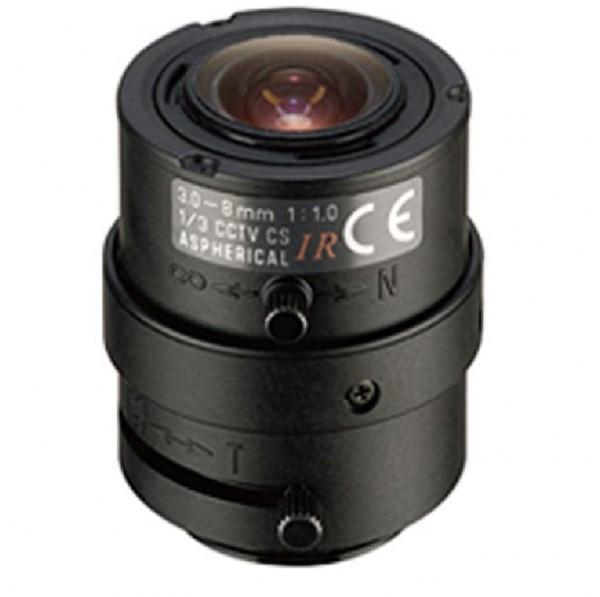 """TAMRON 13VM308ASIRII, 1/3"""" Varioobjektiv 3-8mm manuell"""