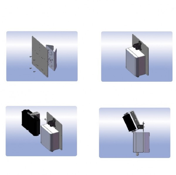 rayTEC Adapterplatte zur Mastmontage PBC-PSU-ADAP