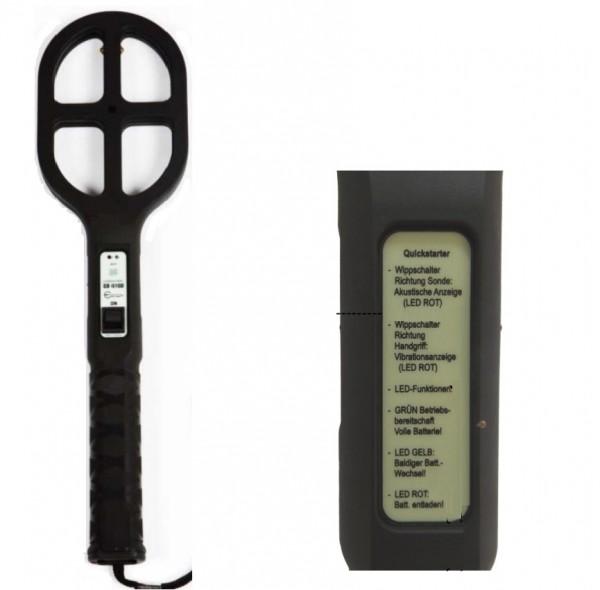 Ebinger EB 610 C-2 Kleeblatt-Handsonde Waffen-/Metalldetektor
