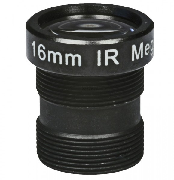 "ASL-Ademco ASL-MP16IR, 1/3"" Wechselobjektiv, 16mm"