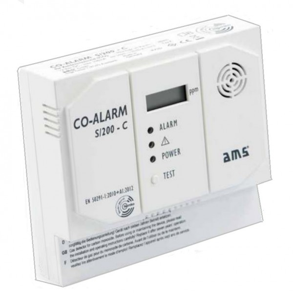 D-Secour S/200-C, CO-Gasmelder für Kohlenmonoxid