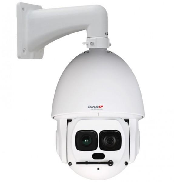 """lunaIP SL5203, 1/2,8"""" IP-Domekamera PTZ 2MP Laser-IR"""