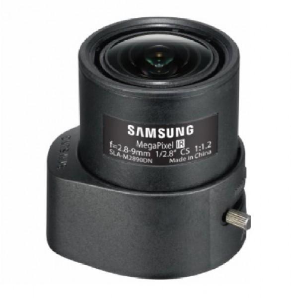 "Hanwha Techwin SLA-M2890PN, 1/2,8"" 3MP Objektiv 2,8-9mm P-Iris"