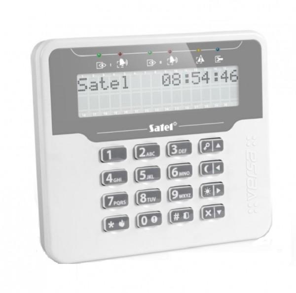SATEL VERSA-LCDM-WH (DE), LCD-Klartext-Bedienteil weiß