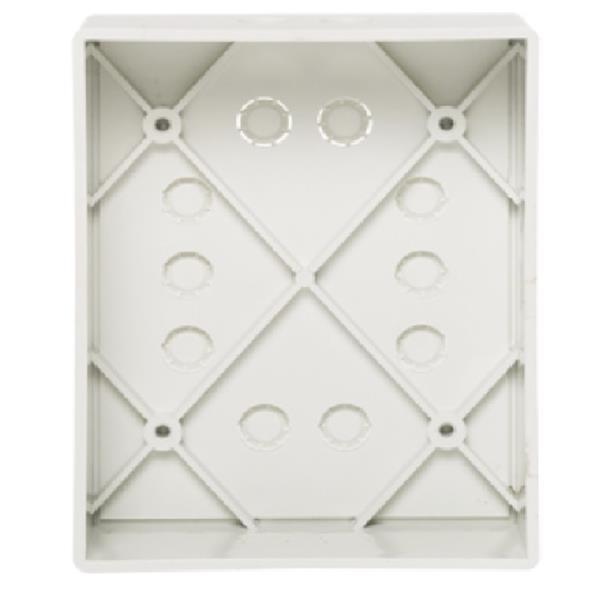 Honeywell Kunststoff-Einputzgehäuse, uP, weiß, 050302.17