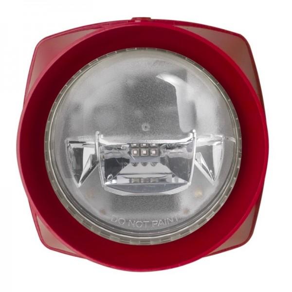ESSER 807224RR, Kombi-Signalgeber IQ8Alarm Blitz, rot
