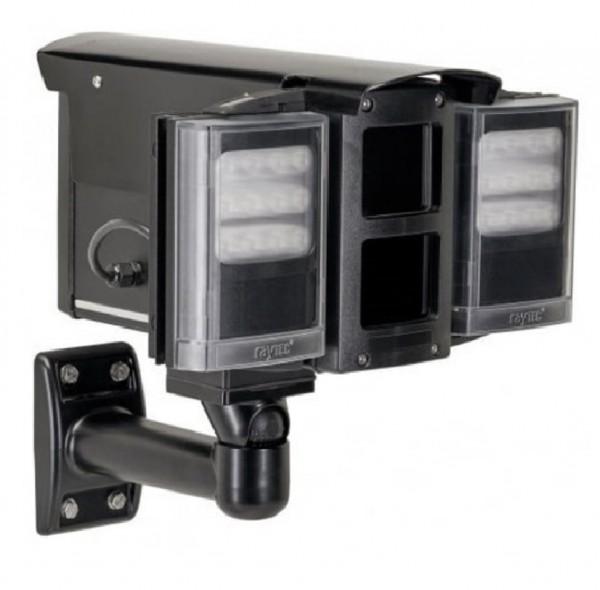 rayTEC VAR2-VLK-W4-2, Wetterschutzgehäuse + 2 Weißlichtscheinwerfer