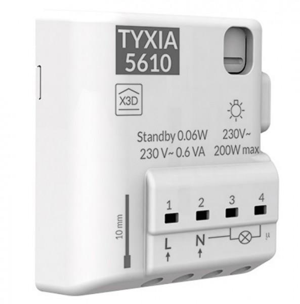 TYXAL+ TYXIA 5610, Funk-Empfänger 1-Kanal, 230V~